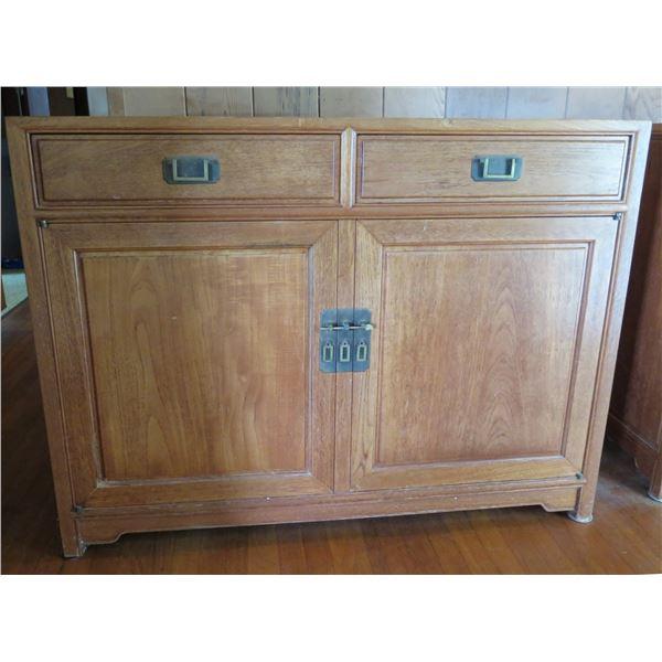 """Asian Wooden Buffet 48"""" x 19""""x 36""""H"""