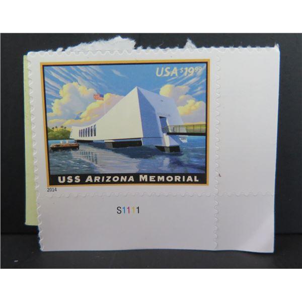2014 USS Arizona Memorial Postage Stamp, Mystic Stamp Co.