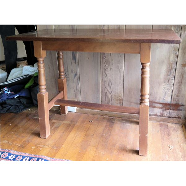 """Wooden Side Table 36""""x 18"""" x 28""""H"""