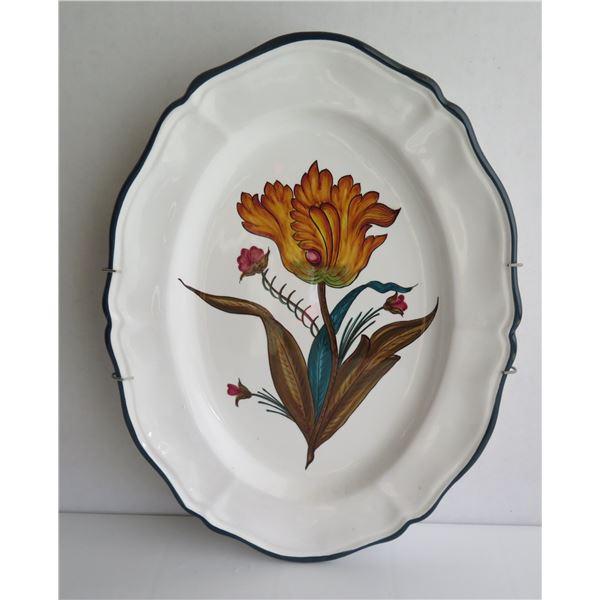 """Grazia Deruta Italian Platter 11""""x 15"""""""