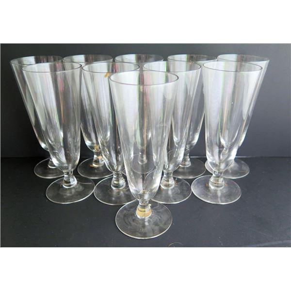 Qty 10 Parfait Glasses, Clear, Sweden