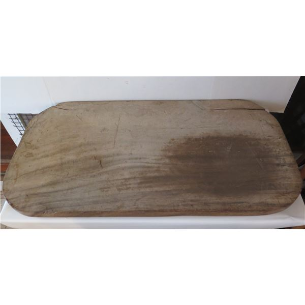"Wooden Luau Pig Board, Rectangular (Cracked) 36"" x 118"""