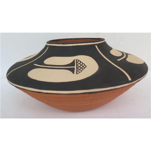 "Native American Indian Cochiti Pueblo Seed Pot, Signed Joseph Brian Suina 5""H"