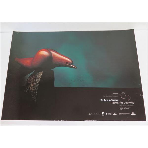 """Te Ara  O Tainui Poster, Waikato Museum NZ 1998 16.75"""" x 23"""""""
