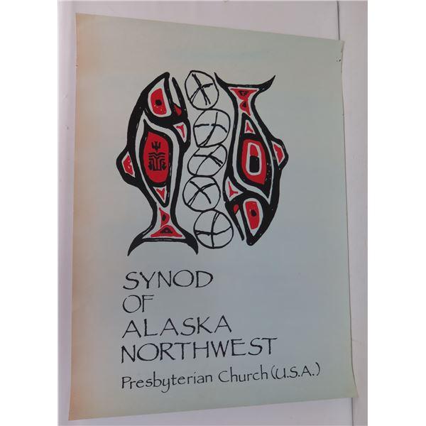 "Synod of Alaska Northwest Poster, Presbyterian Church 17.5"" x 23"""