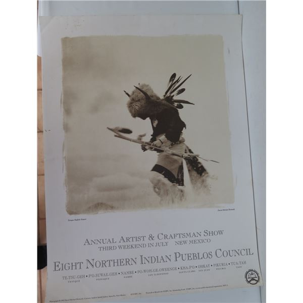 "Annual Artist & Craftsman Show Poster, 1992 18"" x 24"""