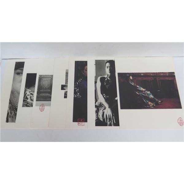 "Qty 7 Chinese Photographs, Women Maker's Mark 10"" x 12"""