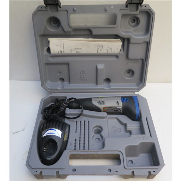 Dremel Cordless Rotary Tool w/ Case Lithium-Ion No Accessories