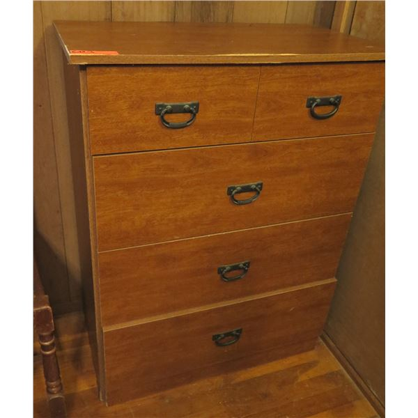"""Wooden Chest of Drawers, 4 Drawers 31"""" x 17"""" x 40""""H"""