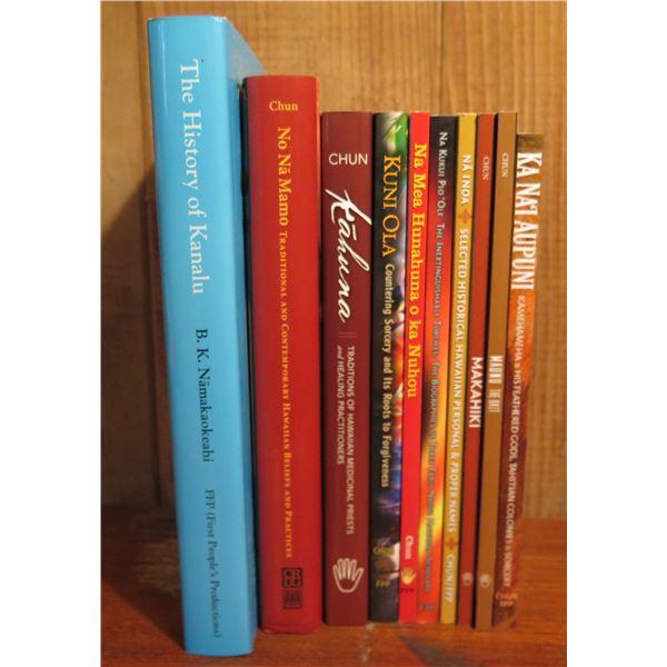 Qty 10 Hawaiian Books