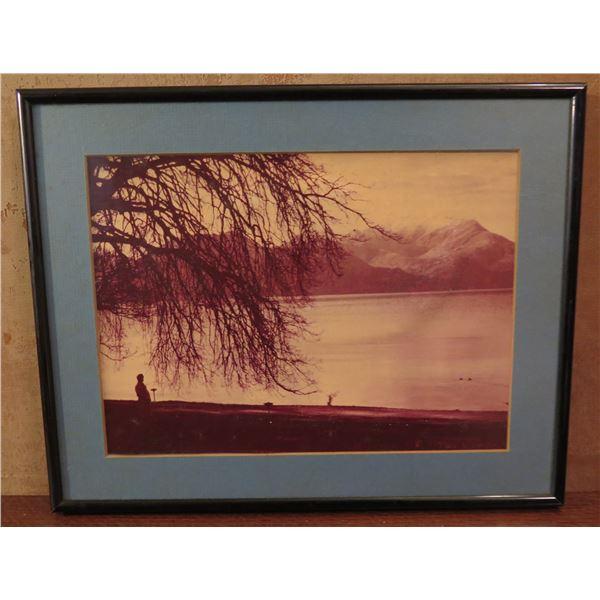 "Framed Art, Landscape Photo 14"" x 11.5"""