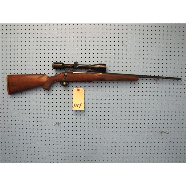 Ruger M77, bolt action, 270 win, floor plate, Bushnell 4x40 scope