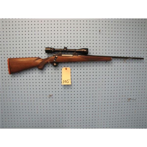 Ruger M77, bolt action, 30-06, floor plate, Bushnell Banner 4x40 scope