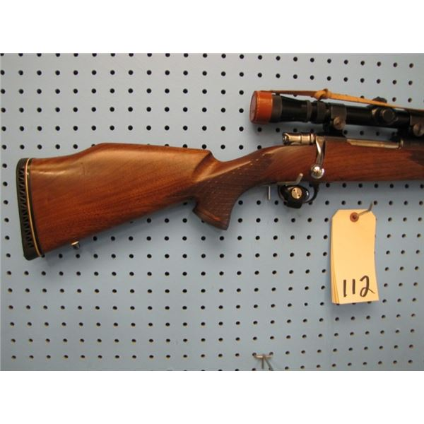 Eaton TruLine Model 100, bolt action, 30-06, German post reticle 2.5-6 scope, Belgian FN action