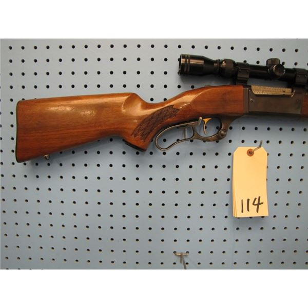 Savage 99F, lever action, 308 win , 5 shot rotary internal mag, Tasco 3-9x32 scopr