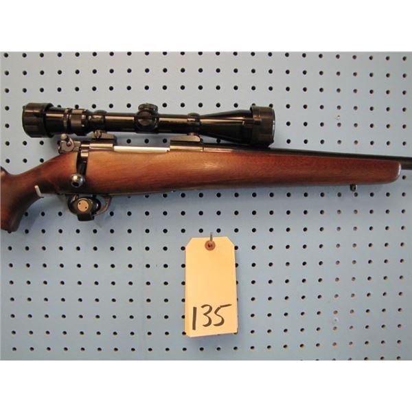 Sako model L57 No 7840, bolt action, custom 250 Savage Douglas Barrel, 1 in 12 in rate of twist, hin