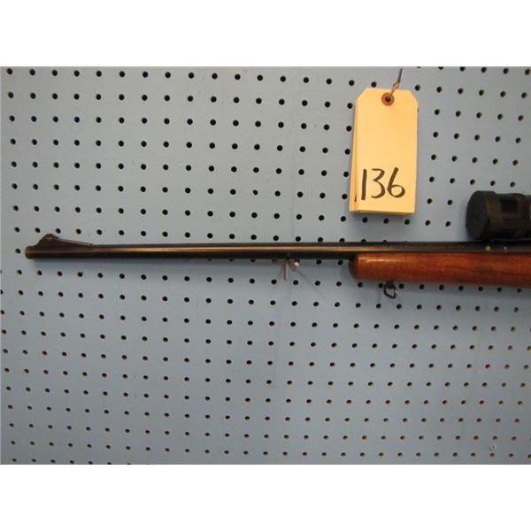 Remington Model 722, bolt action, 222 Remington, 26 inch barrel, Redfield 10 x 40 AO scope