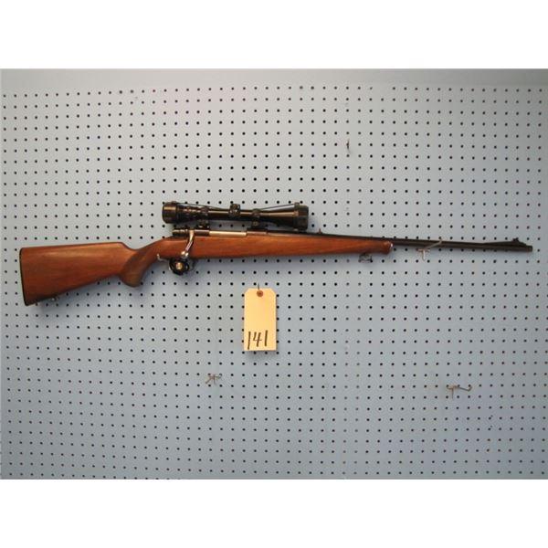 Husqvarna model 1640, bolt action, 30 06, floor plate, Bausch & Lomb balvar 2.5 - 8 by 38 scope