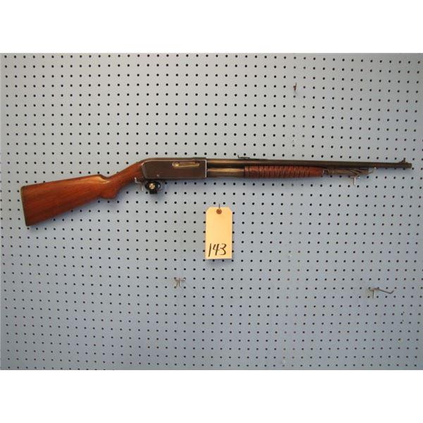 Remington Model 14, pump-action, 30 Remington, tubular magazine