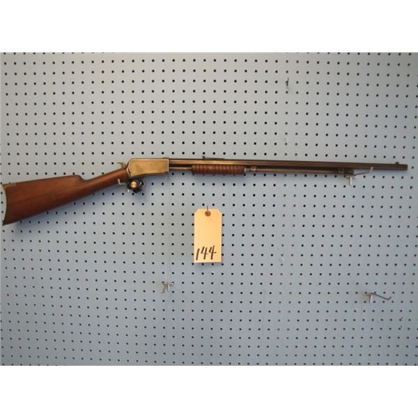 Winchester Model 1890, pump-action, 22 wrf, hex Barrel, date of manufacture 1906