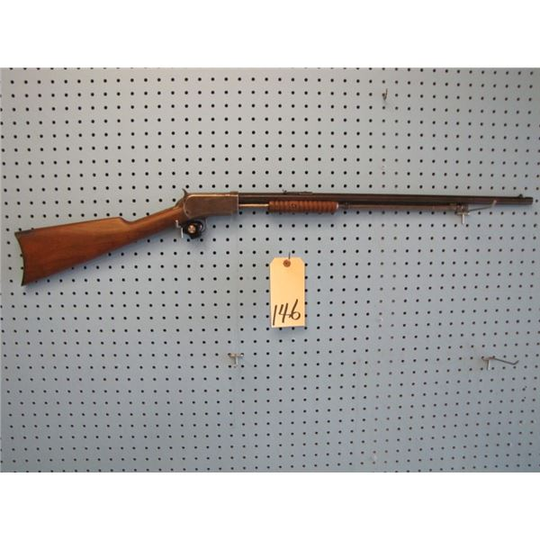 Winchester model 90, pump-action, 22 long, hex Barrel, date of manufacture 1924