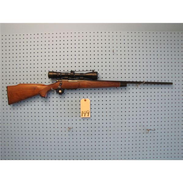 Remington model 700, bolt action, 22-250, Kwik klip magazine conversion, Swift 3 - 9 by 40 scope