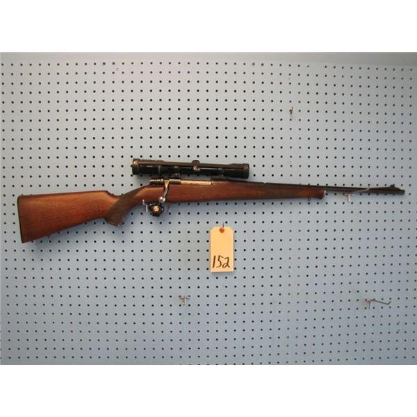 Husqvarna model 1600, bolt action, 30 - 06, floor plate, Swarovski habicht 4 x 32 scope