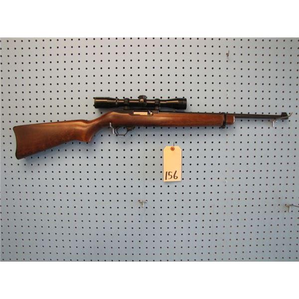 Ruger 10/22 Carbine, semi automatic, 22 calibre, clip, Nikko Stirling 4 x 32 scope