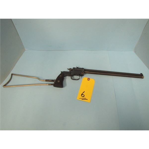 """RESTRICTED:  Marble Safety Axe Co. Game Getter, Model 1908, Over & Under 15"""" Barrels , Calibers .22"""