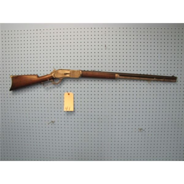 Winchester  Model 1876 second model cal 45-60. Serial number 187836, Kings-improved-patent March 29