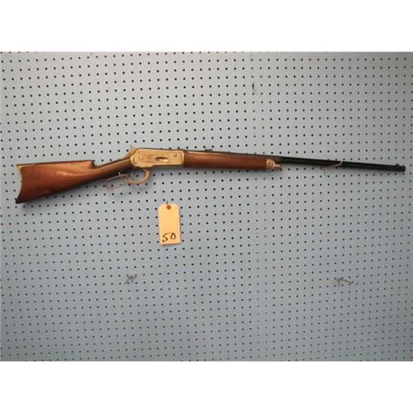 Winchester Model 1886  Sporting Model 45-90 caliber. Serial number 47XX which makes it made in 1887,