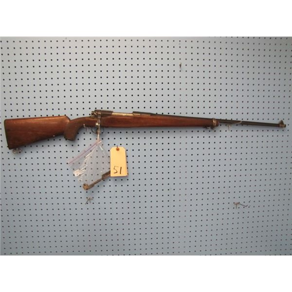 M1917 Enfield MARKED US EDDYSTONE SERIAL # 706XXX CUT & MODIFIED. bolt action, Barrel drilled for sc