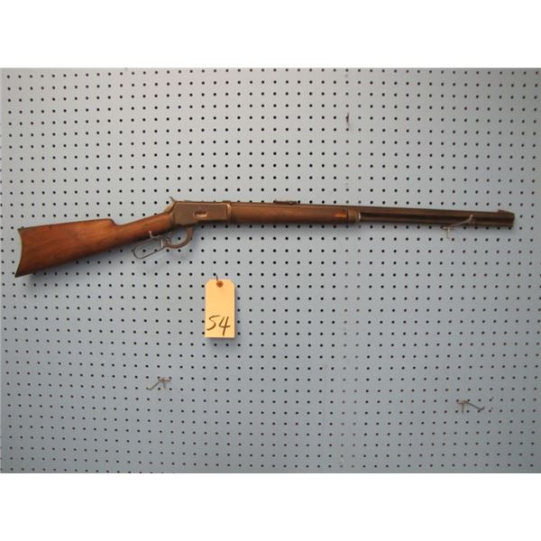Winchester Model 1892 sporting rifle, 25-20 serial number L (1?) 62XXX, barrel length 24 inches full