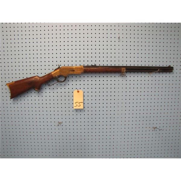 Winchester model 1866 44 caliber. Serial number 38XXX, barrel length 24 inches, octagonal barrel, ma