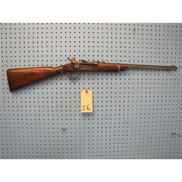 Snider Enfield Mark lll,1871, caliber .577 , serial number 51XX, barrel length 18 5/8 inches, 25 sep