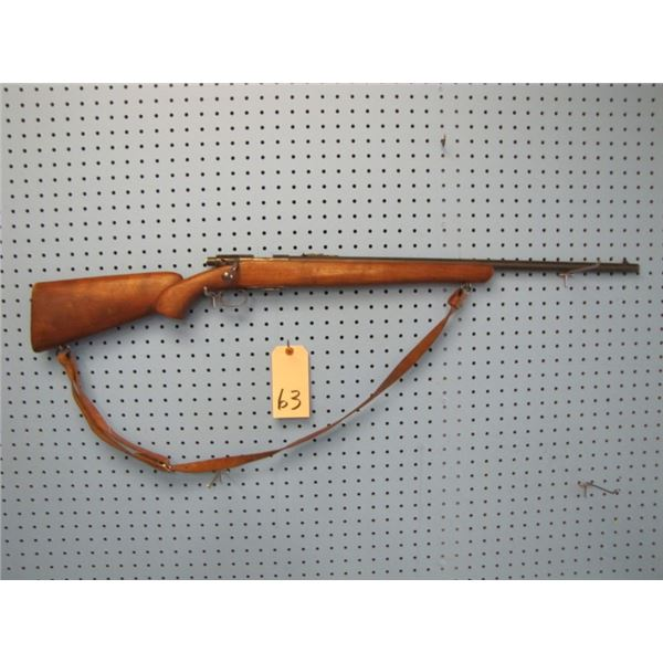 WINCHESTER MODEL 69A BOLT ACTION .22 CALIBER S. L. OR LR. CLIP, RUST SHOWING, NO BUTT PLATE.