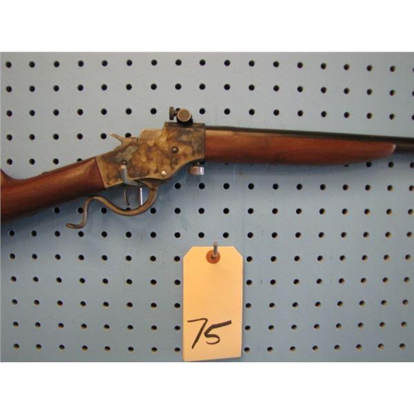 "Stevens Model 1915 new 21 3/4"" 22 LR barrel, action newly case coloured, serial # 4XX"
