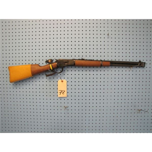 Winchester 1892 carbine,  44-40 serial #0006ZXXXX, with windage Marbles tang sight