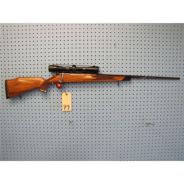 Shultz & Larsen model M68DL, Bolt Action,7mm Rem Mag, floor plate, w/ bushnell buckhorn 4x32 scope,