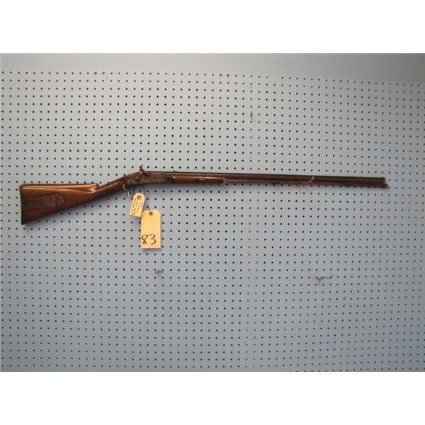 S. Smith & Company Princess Street London, fancy deer stocking percussion half stock rifle, large en