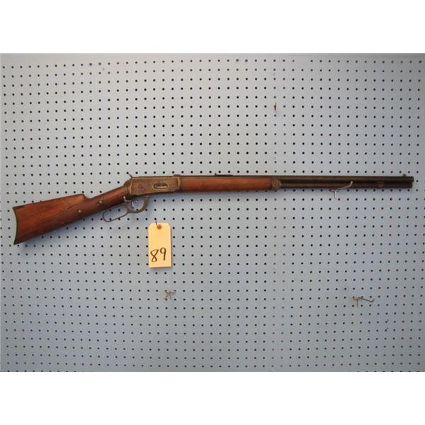 """Winchester model 1894, lever action, 30 wcf, 26"""" barrel, stock broken & repaired, Mfd 1906"""