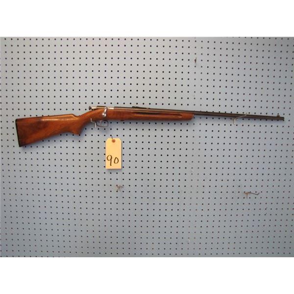 Winchester model 67, bolt, single shot, 22 s,l,lr., side mount