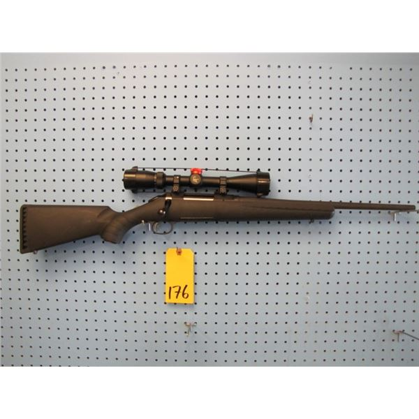 Ruger American, bolt action, 223 Remington, synthetic stock, clip, scorpion optics scope 4 - 12 x 40