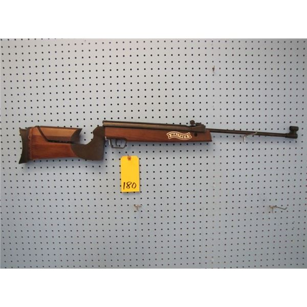 Walther Jaguar, .177 calibre, pellet gun, side lever for cocking, adjustable stock, made in Germany