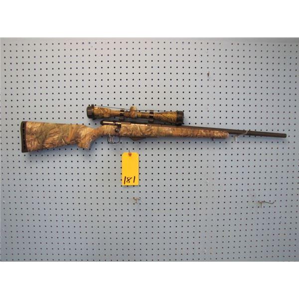 Savage M - 25, bolt action, 17 Hornet calibre, clip, Accu set trigger, synthetic stock, Nikon 4.5 -