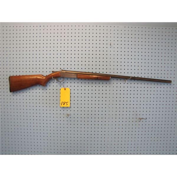 Ranger 12 gauge single shot shotgun 30 inch full choke, has someone's SIN engraved on barrel