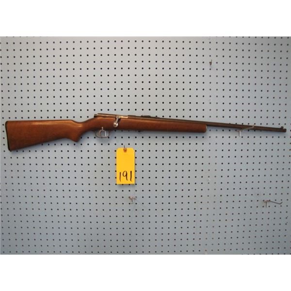 Savage model 3D, bolt action, 22 s, l, LR., single shot, action stiff to lock in