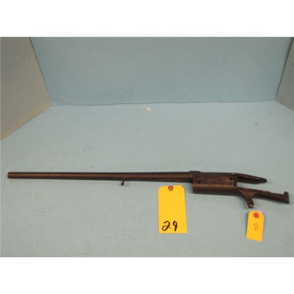 Savage Model 99, saddle ring carbine, barrel and frame, 30 - 30, Parts gun, 20 inch barrel
