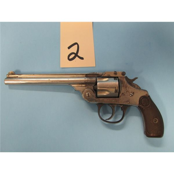 RESTRICTED:  IVER JOHNSONS ARMS AND CYCLE WORKS, SAFETY HAMMER AUTOMATIC,  38 S&W caliber, 5 SHOT DO