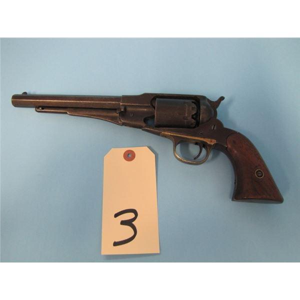 ANTIQUE:  Remington new model Navy model 1861, .36 calibre cap and ball, 6 shot, 7 3/8 in Barrel, Ma